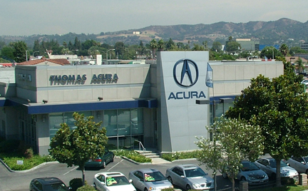 Thomas Acura on Project Thomas Acura Dealership Remodel Renovate Existing Dealership
